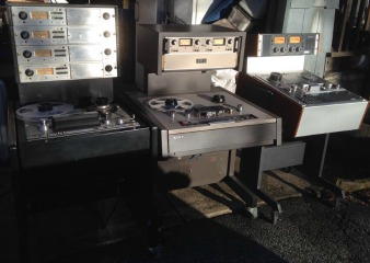 Client Repairs: Ampex, MCI, Studer